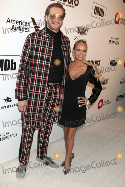 Elton John Photo - LOS ANGELES - FEB 24  Bryan Fuller Kristin Chenoweth at the Elton John Oscar Viewing Party on the West Hollywood Park on February 24 2019 in West Hollywood CA