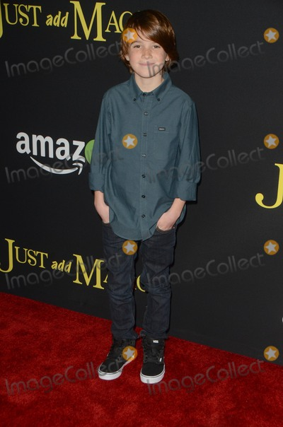 Aiden Lovekamp Photo - vLOS ANGELES - JAN 14  Aiden Lovekamp at the Just Add Magic Amazon Premiere Screening at the ArcLight Hollywood Theaters on January 14 2016 in Los Angeles CA