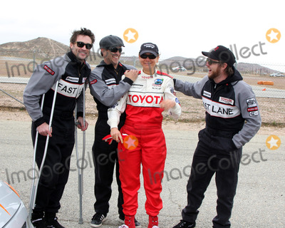 AJ Buckley Photo - LOS ANGELES - MAR 19  Daniel Goddard Stephen Moyer Megyn Price AJ Buckley at the Toyota ProCelebrity Race Training Session at Willow Springs Speedway on March 19 2011 in Rosamond CA