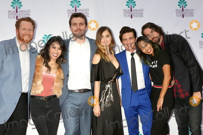 Austin Swift Photo - PALM SPRINGS - JAN 3  Todd Berger Ashley Argota Austin Swift Debby Ryan Drake Bell Jenn An Jonny Mars at the PSIFF Cover Versions Screening at Camelot Theater on January 3 2018 in Palm Springs CA