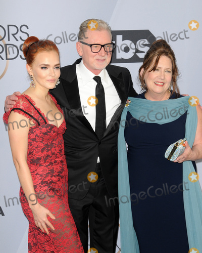 Ann Dowd Photo - LOS ANGELES - JAN 27  Madeline Brewer Warren Littlefield Ann Dowd at the 25th Annual Screen Actors Guild Awards at the Shrine Auditorium on January 27 2019 in Los Angeles CA