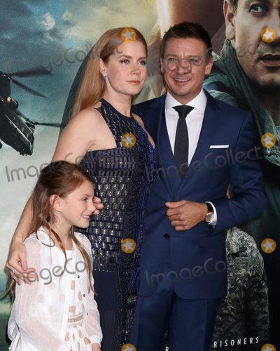 Abigail Pniowsky Photo - LOS ANGELES - NOV 6  Abigail Pniowsky Amy Adams Jeremy Renner at the Arrival Premiere at Village Theater on November 6 2016 in Westwood CA