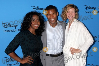Tessa Ferrer Photo - LOS ANGELES - AUG 4  Jerrika Hinton Gaius Charles Tessa Ferrer arrives at the ABC Summer 2013 TCA Party at the Beverly Hilton Hotel on August 4 2013 in Beverly Hills CA