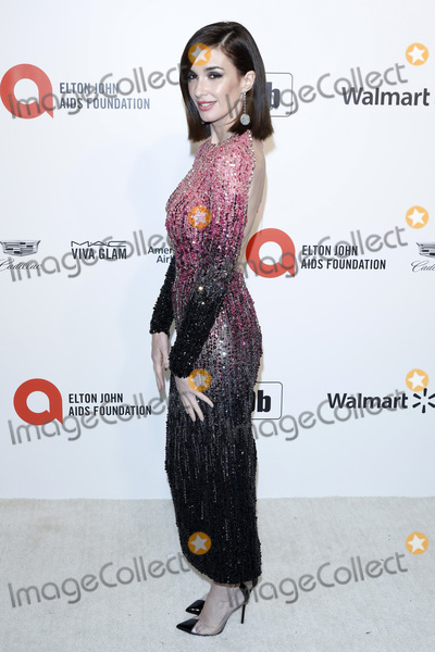 Paz Vega Photo - LOS ANGELES - FEB 9  Paz Vega at the 28th Elton John Aids Foundation Viewing Party at the West Hollywood Park on February 9 2020 in West Hollywood CA