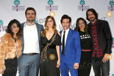 Ashley Argota Photo - PALM SPRINGS - JAN 3  Ashley Argota Austin Swift Debby Ryan Drake Bell Jenn An Jonny Mars at the PSIFF Cover Versions Screening at Camelot Theater on January 3 2018 in Palm Springs CA
