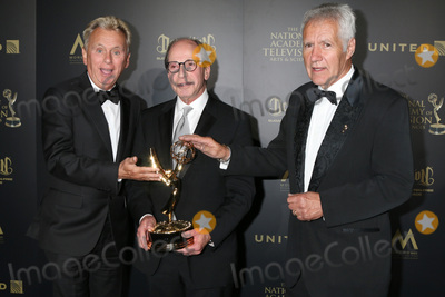 Alex Trebek Photo - LOS ANGELES - APR 29  Pat Sajak Harry Friedman Alex Trebek at the 2017 Creative Daytime Emmy Awards at the Pasadena Civic Auditorium on April 29 2017 in Pasadena CA