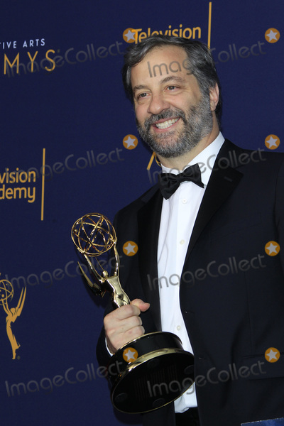 Garry Shandling Photo - LOS ANGELES - SEP 9  Judd Apatow The Zen Diaries of Garry Shandling at the 2018 Creative Arts Emmy Awards - Day 2 - Press Room at the Microsoft Theater on September 9 2018 in Los Angeles CA