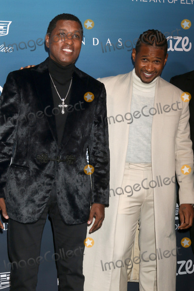 Usher Photo - LOS ANGELES - JAN 5  Kenny Babyface Edmonds Usher Raymond IV at the Art of Elysium 12th Annual HEAVEN Celebration at a Private Location on January 5 2019 in Los Angeles CA
