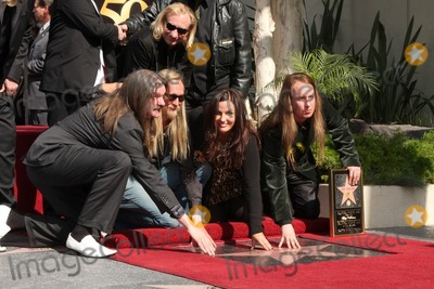 Barbara Orbison Photo - Barbara Orbison (2nd R) wife of late singer Roy Orbison and his sons Wesley (L) Alex (2nd L) and Roy Orbison Jr (R)Hollywood Walk of Fame Star Ceremony for Roy Orbison Capitol Records buildingLos Angeles CAJanuary 29 2010
