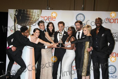 Alfred Enoch Photo - LOS ANGELES - FEB 6  (L-R) Actor Alfred Enoch actress Karla Souza actor Jack Falahe actress Katie Findlay actor Matt McGorry actress Aja Naomi King actor Charlie Weber actress Liza Weil and actor Billy Brown of How to Get Away with Murder at the 46th NAACP Image Awards Press Room at a Pasadena Convention Center on February 6 2015 in Pasadena CA
