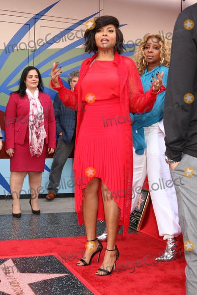 Taraji P Henson Photo - LOS ANGELES - JAN 28  Mary J Blige Taraji P Henson at the Taraji P Henson Star Ceremony on the Hollywood Walk of Fame on January 28 2019 in Los Angeles CA