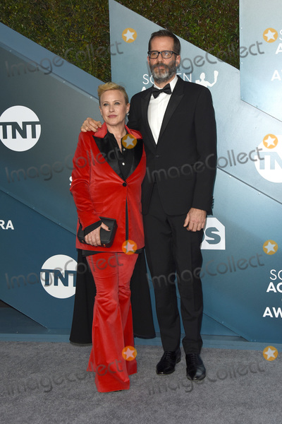 Eric White Photo - LOS ANGELES - JAN 19  Patricia Arquette Eric White at the 26th Screen Actors Guild Awards at the Shrine Auditorium on January 19 2020 in Los Angeles CA
