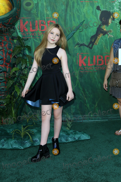Ella Anderson Photo - LOS ANGELES - AUG 14  Ella Anderson at the Kubo and the Two Strings Premiere at the AMC Universal Citywalk on August 14 2016 in Universal City CA