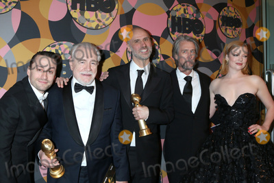 Jesse Armstrong Photo - LOS ANGELES - JAN 5  Kieran Culkin Brian Cox Jesse Armstrong Alan Ruck and Sarah Snook at the 2020 HBO Golden Globe After Party at the Beverly Hilton Hotel on January 5 2020 in Beverly Hills CA