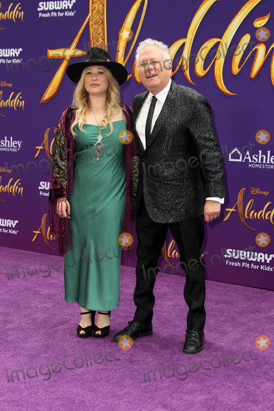 Alan Menken Photo - LOS ANGELES - MAY 21  Anna Rose Alan Menken at the Aladdin Premiere at the El Capitan Theater on May 21 2019 in Los Angeles CA