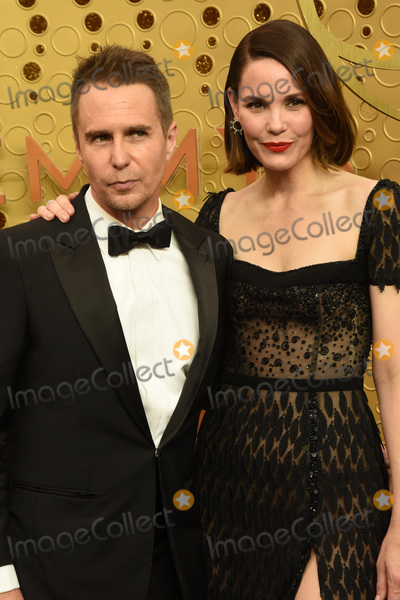 Sam Rockwell Photo - LOS ANGELES - SEP 22  Sam Rockwell Leslie Bibb at the Primetime Emmy Awards - Arrivals at the Microsoft Theater on September 22 2019 in Los Angeles CA