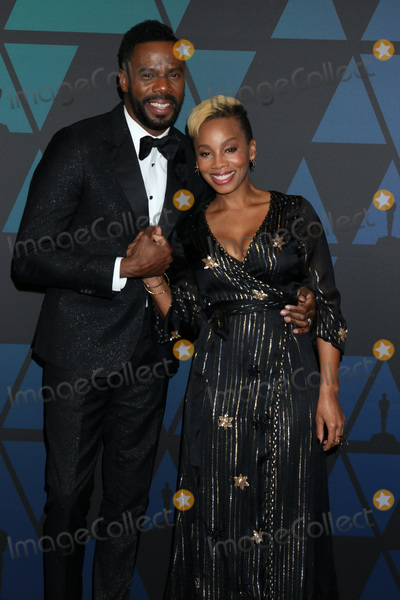 Anika Noni Rose Photo - LOS ANGELES - NOV 18  Colman Domingo Anika Noni Rose at the 10th Annual Governors Awards at the Ray Dolby Ballroom on November 18 2018 in Los Angeles CA