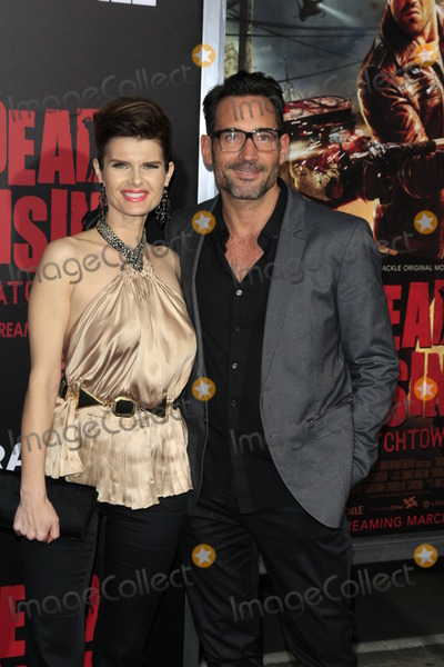 Kim Novak Photo - LOS ANGELES - MAR 11  Carrie Genzel Gregory Zarian at the Dead Rising Watchtower World Premiere at the Kim Novak Theater Sony Studios on March 11 2015 in Culver City CA