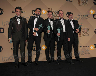 Allen Leech Photo - LOS ANGELES - JAN 30  Julian Ovenden Tom Cullen Allen Leech Kevin Doyle Jeremy Swift at the 22nd Screen Actors Guild Awards at the Shrine Auditorium on January 30 2016 in Los Angeles CA