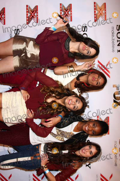 Fifth Harmony Photo - LOS ANGELES - DEC 6  Fifth Harmony arrives to the X Factor 2012 Final Four Party at Rodeo Drive on December 6 2012 in Beverly Hills CA