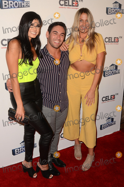 Analyse Talavera Photo - LOS ANGELES - SEP 26  Analyse Talavera Tommy Bracco Christie Murphy at the Big Brother 21 Finale Party at the Edison on September 26 2019 in Los Angeles CA