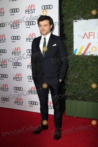 Alden Ehrenreich Photo - LOS ANGELES - NOV 10  Alden Ehrenreich at the AFI FEST 2016 - Opening Night - Premiere Of 20th Century Foxs Rules Dont Apply at TCL Chinese Theater on November 10 2016 in Los Angeles CA