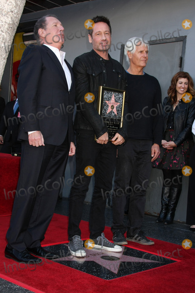 Chris Carter Photo - LOS ANGELES - JAN 25  Garry Shandling David Duchovny Chris Carter at the David Duchovny Hollywood Walk of Fame Star Ceremony at the Fox Theater on January 25 2016 in Los Angeles CA