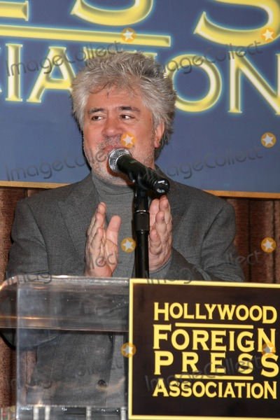 Cecil B DeMille Photo - LOS ANGELES - NOV 9  Pedro Almodovar at the CECIL B DEMILLE AWARD Honoree Announcement at Beverly Hilton Hotel on November 9 2011 in Beverly Hills CA