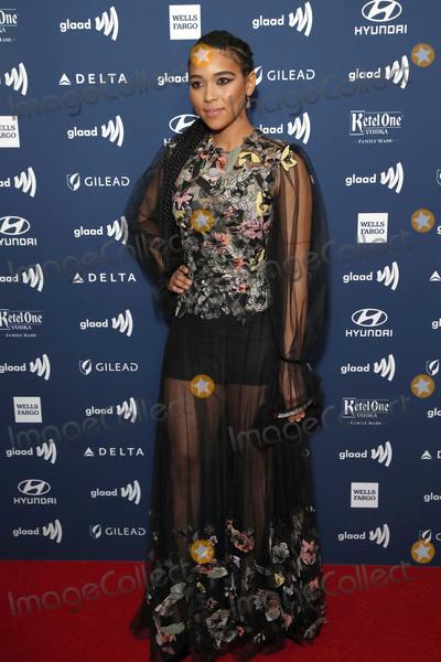 Alexandra Shipp Photo - LOS ANGELES - MAR 28  Alexandra Shipp at the 30th Annual GLAAD Media Awards at the Beverly Hilton Hotel on March 28 2019 in Los Angeles CA