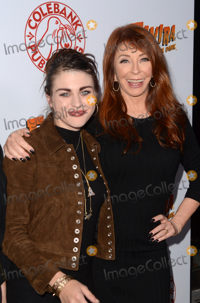 Cassandra Peterson Photo - LOS ANGELES - OCT 17  Frances Bean Cobain Cassandra Peterson at the Elvira Mistress Of The Dark Coffin Table Book Launch at Roosevelt Hotel on October 17 2016 in Los Angeles CA
