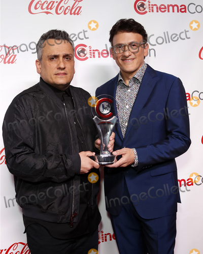 Anthony Russo Photo - LAS VEGAS - APR 4  Joe Russo Anthony Russo at the 2019 CinemaCon Big Screen Achievement Awards at the Caesars Palace on April 4 2019 in Las Vegas NV