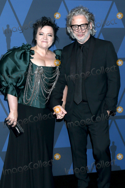 Dexter Fletcher Photo - LOS ANGELES - OCT 27  Dalia Ibelhauptaite Dexter Fletcher at the Governors Awards at the Dolby Theater on October 27 2019 in Los Angeles CA