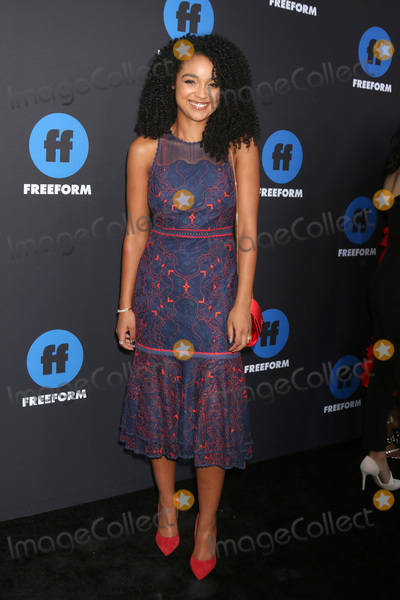 Aisha Dee Photo - LOS ANGELES - JAN 18  Aisha Dee at the Freeform Summit 2018 at NeueHouse on January 18 2018 in Los Angeles CA