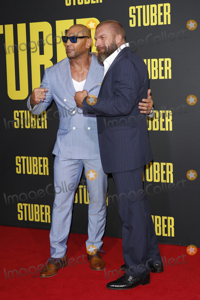 Triple-H Photo - LOS ANGELES - JUL 10  Dave Bautista Triple H at the Stuber Premiere at the Regal LA Live on July 10 2019 in Los Angeles CA