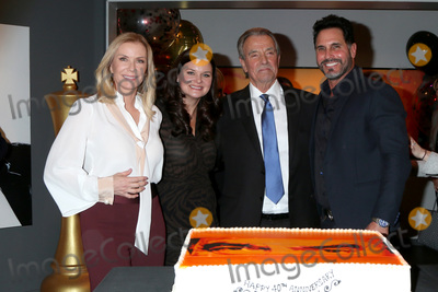 Don Diamont Photo - LOS ANGELES - FEB 7  Katherine Kelly Lang Heather Tom Eric Braeden and Don Diamont at the Eric Braeden 40th Anniversary Celebration on The Young and The Restless at the Television City on February 7 2020 in Los Angeles CA