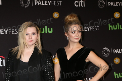 Abigail Breslin Photo - LOS ANGELES - MAR 12  Abigail Breslin Billie Lourd at the PaleyFest Los Angeles - Scream Queens at the Dolby Theater on March 12 2016 in Los Angeles CA