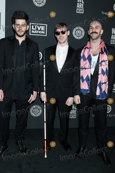 Adam Levine Photo - LOS ANGELES - JAN 4   Adam Levin Casey Harris and Sam Harris - X Ambassadors at the Art of Elysium Gala - Arrivals at the Hollywood Palladium on January 4 2020 in Los Angeles CA