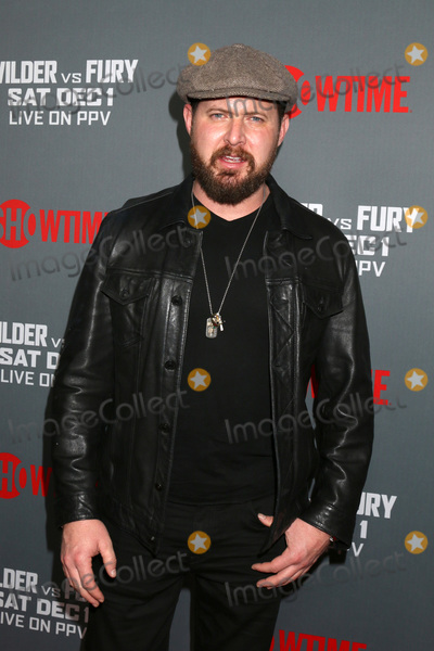 AJ Buckley Photo - LOS ANGELES - DEC 1  AJ Buckley at the Heavyweight Championship Of The World Wilder vs Fury - Arrivals at the Staples Center on December 1 2018 in Los Angeles CA