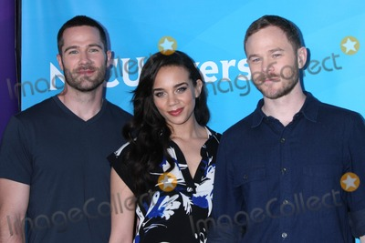 Aaron Ashmore Photo - LOS ANGELES - FEB 2  Luke MacFarlane Hannah John-Kamen Aaron Ashmore at the NBC Universal Summer Press Day 2015 at the Huntington Langham Hotel on April 2 2015 in Pasadena CA