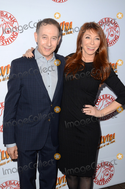 Paul Reubens- Photo - LOS ANGELES - OCT 17  Paul Reubens Cassandra Peterson at the Elvira Mistress Of The Dark Coffin Table Book Launch at Roosevelt Hotel on October 17 2016 in Los Angeles CA