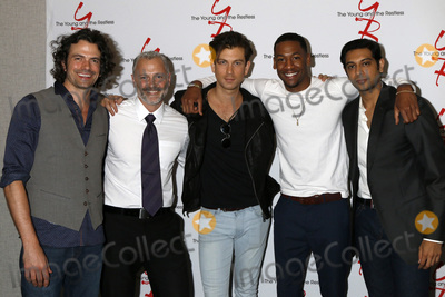 Abhi Sinha Photo - LOS ANGELES - AUG 19  Daniel Hall Max Shippee Ryan Ashton Darnell Kirkwood Abhi Sinha at the Young and Restless Fan Event 2017 at the Marriott Burbank Convention Center on August 19 2017 in Burbank CA