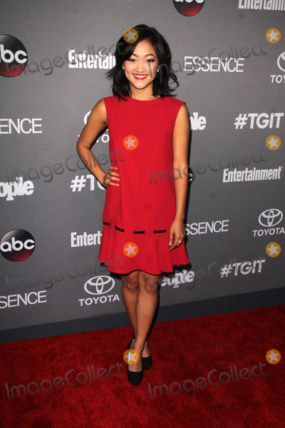 Amy Okuda Photo - LOS ANGELES - SEP 26  Amy Okuda at the TGIT 2015 Premiere Event Red Carpet at the Gracias Madre on September 26 2015 in Los Angeles CA