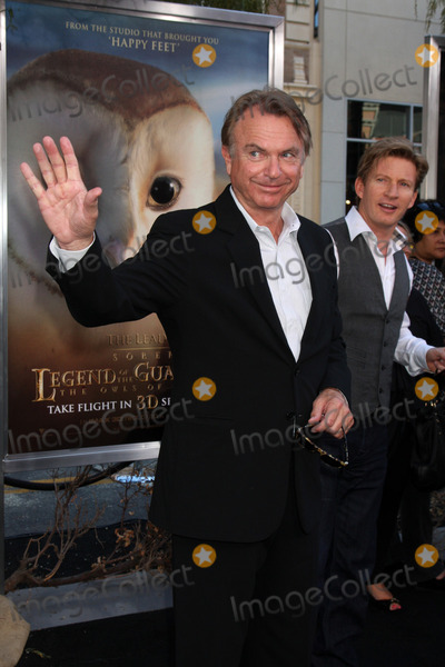 Sam Neill Photo - LOS ANGELES - SEP 19  Sam Neill arrives at the Legend of the Guardians The Owls of GaHoole Premiere at Graumans Chinese Theater on September 19 2010 in Los Angeles CA