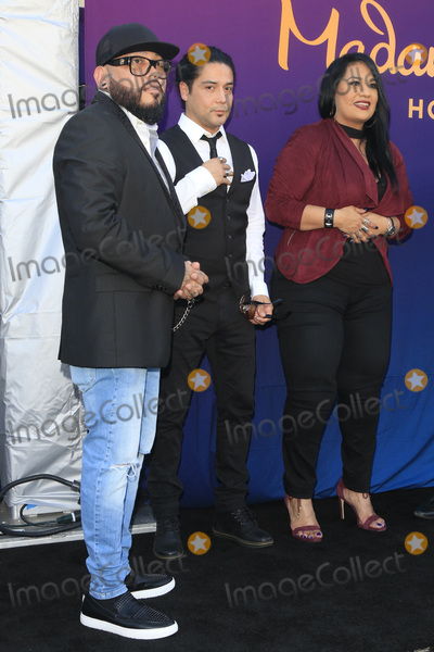 Chris Perez Photo - LOS ANGELES - AUG 30  AB Quintanilla Suzette Quintanilla Chris Perez at the Selena Quintanilla Wax Figure Unveiling at the Madame Tussauds Hollywood on August 30 2016 in Los Angeles CA