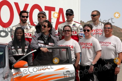 Adam Carolla Photo - Pro  Celebrity Racers  including Brian Austin Green Adam Carolla Megyn Price Tika Sumpter Keanu Reeves Adrien Brody Jesse McCartneyat the Toyota Pro-Celeb Race Training in Preparation for the Toyota Long Beach Grand Prix Celebrity Race Willow Springs RacewayRosamond CAMarch 20 20102010 Kathy Hutchins  Hutchins Photo