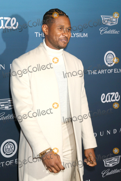 Usher Photo - LOS ANGELES - JAN 5  Usher Raymond IV at the Art of Elysium 12th Annual HEAVEN Celebration at a Private Location on January 5 2019 in Los Angeles CA