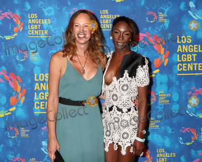 Angelica Ross Photo - LOS ANGELES - SEP 24  Jen Richards Angelica Ross at the Los Angeles LGBT Center 47th Anniversary Gala Vanguard Awards at the Pacific Design Center on September 24 2016 in West Hollywood CA