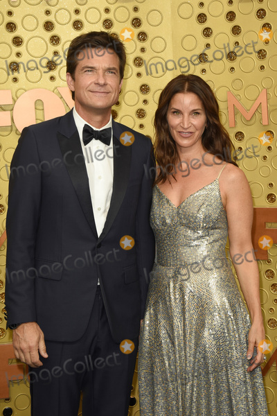 Amanda Anka Photo - LOS ANGELES - SEP 22  Jason Bateman Amanda Anka at the Primetime Emmy Awards - Arrivals at the Microsoft Theater on September 22 2019 in Los Angeles CA