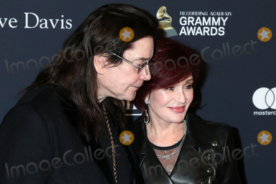 Sharon Osbourne Photo - LOS ANGELES - JAN 25  Ozzy Osbourne Sharon Osbourne at the 2020 Clive Davis Pre-Grammy Party at the Beverly Hilton Hotel on January 25 2020 in Beverly Hills CA