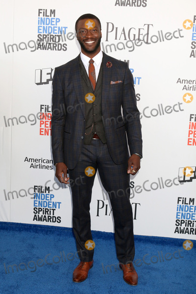 Aldis Hodges Photo - LOS ANGELES - FEB 25  Aldis Hodge at the 32nd Annual Film Independent Spirit Awards at Beach on February 25 2017 in Santa Monica CA